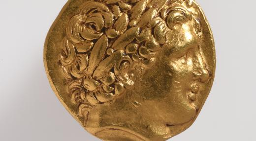 Statère de Philippe II de Macédoine (avers)