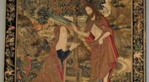 6 - Le Christ ressuscité apparaissant à Marie-Madeleine