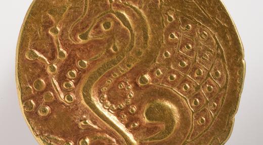 Statère d'or des Parisii (revers)