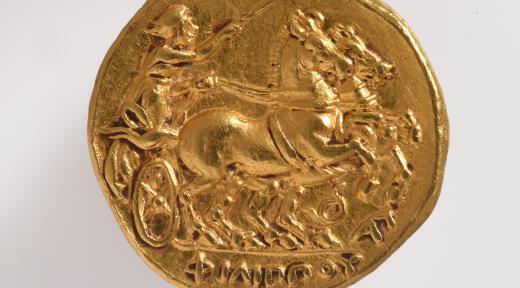 Statère de Philippe II de Macédoine (revers)