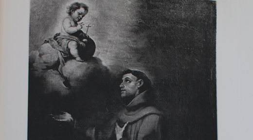 2 - Bartolomé Murillo, Saint Antoine de Padoue et l'enfant Jésus